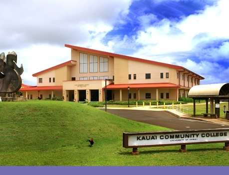 Google map of Kauai CC campus location
